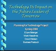 Technology: Its Impact on the Future Leaders of Tomorrow powerpoint presentation