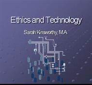 Ethics and Technology powerpoint presentation