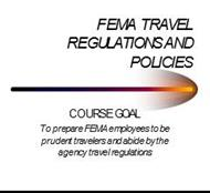 FEMA TRAVEL REGULATIONS AND POLICIES powerpoint presentation