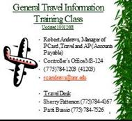 General Travel Information powerpoint presentation