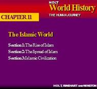 CHAPTER 11 : HOLT World History THE HUMAN JOURNEY powerpoint presentation