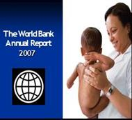 The World Bank Annual Report 2007 powerpoint presentation