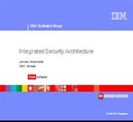 IBM Security Architecture powerpoint presentation