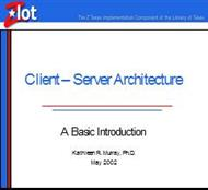 Client-Server Architecture: A Basic Introductionl powerpoint presentation