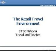 Retail Travel Environment - PowerPoint Presentation - Biz/ed powerpoint presentation
