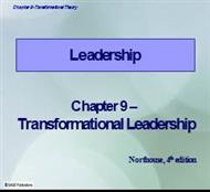 TRANSFORMATIONAL LEADERSHIP THEORY.ppt powerpoint presentation