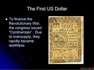 A Brief History of Money  powerpoint presentation