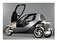 BMW 3 Wheeled Car powerpoint presentation