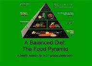 A Balanced Diet The Food Pyramid  powerpoint presentation