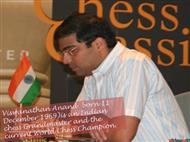 Chess Champion Vishwanathan Anand  powerpoint presentation