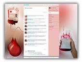 Blood Donation Twitter Template