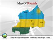 Map of Rwanda