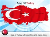 Turkey Border Map