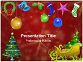 Merry Christmas ppt background