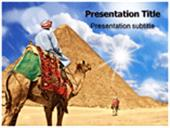 Pyramid With Camel