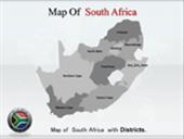 South Africa  Colourfull Map