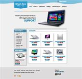 Laptop Support Web Templates