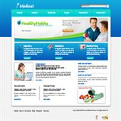 Health Fitness Web Templates