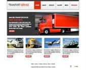 Transportation Services Web Template