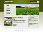 Agricultural and Farming Web Templates
