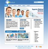 Medical Service Web Templates