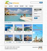 Travel Agency Web Templates
