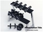 Dumbbell Set 3D