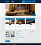 home craft web template
