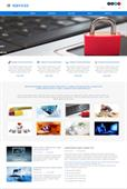 IT Service web template