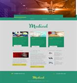 medical heart web template